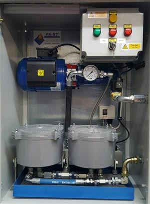 Oil & Fuel Filtration Cabinets