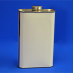 500ml Rectangular Sampling Tin