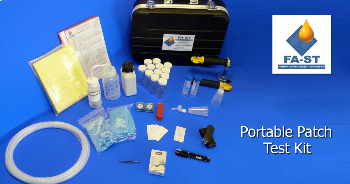 Oil Analysis Portable Patch Test Kit Fa St Ltd